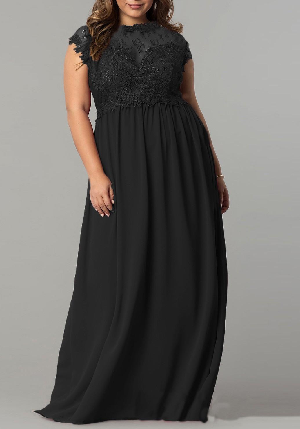 10 schön elegante maxikleider für hochzeit Ärmel - abendkleid