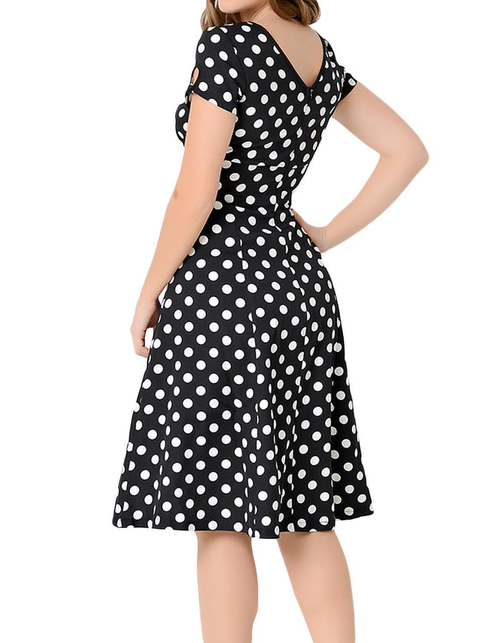 Formal Spektakulär Sommerkleid Schwarz Weiß SpezialgebietDesigner Genial Sommerkleid Schwarz Weiß Boutique