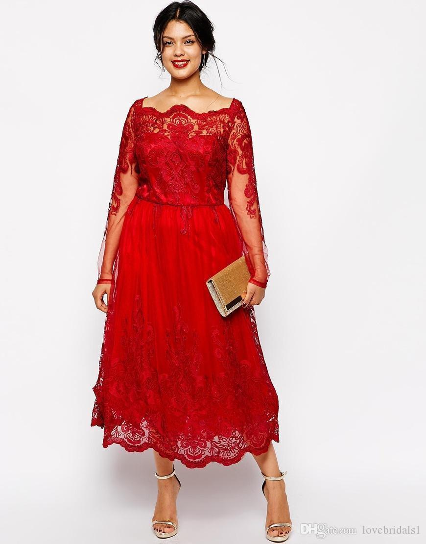 10 Fantastisch Rotes Abendkleid Langarm StylishFormal Schön Rotes Abendkleid Langarm Stylish