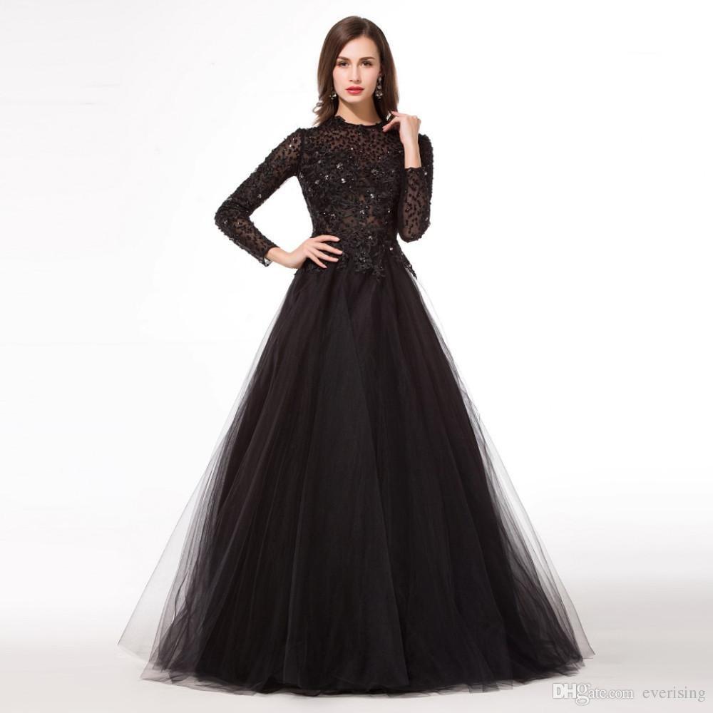 Formal Luxus Abend Kleider Schwarz StylishFormal Schön Abend Kleider Schwarz Stylish
