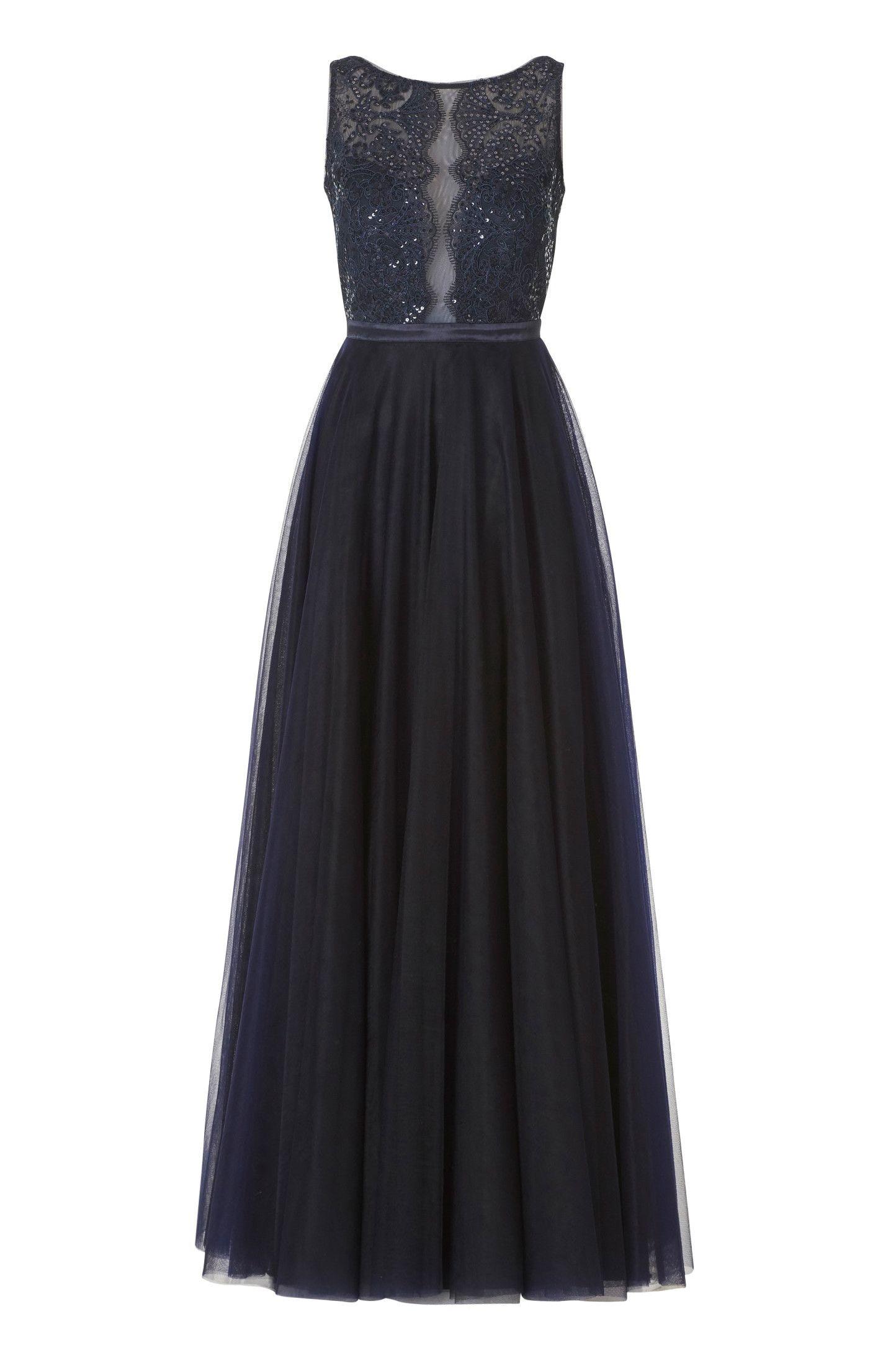 10 Top Abendkleid Nachtblau Lang Design - Abendkleid