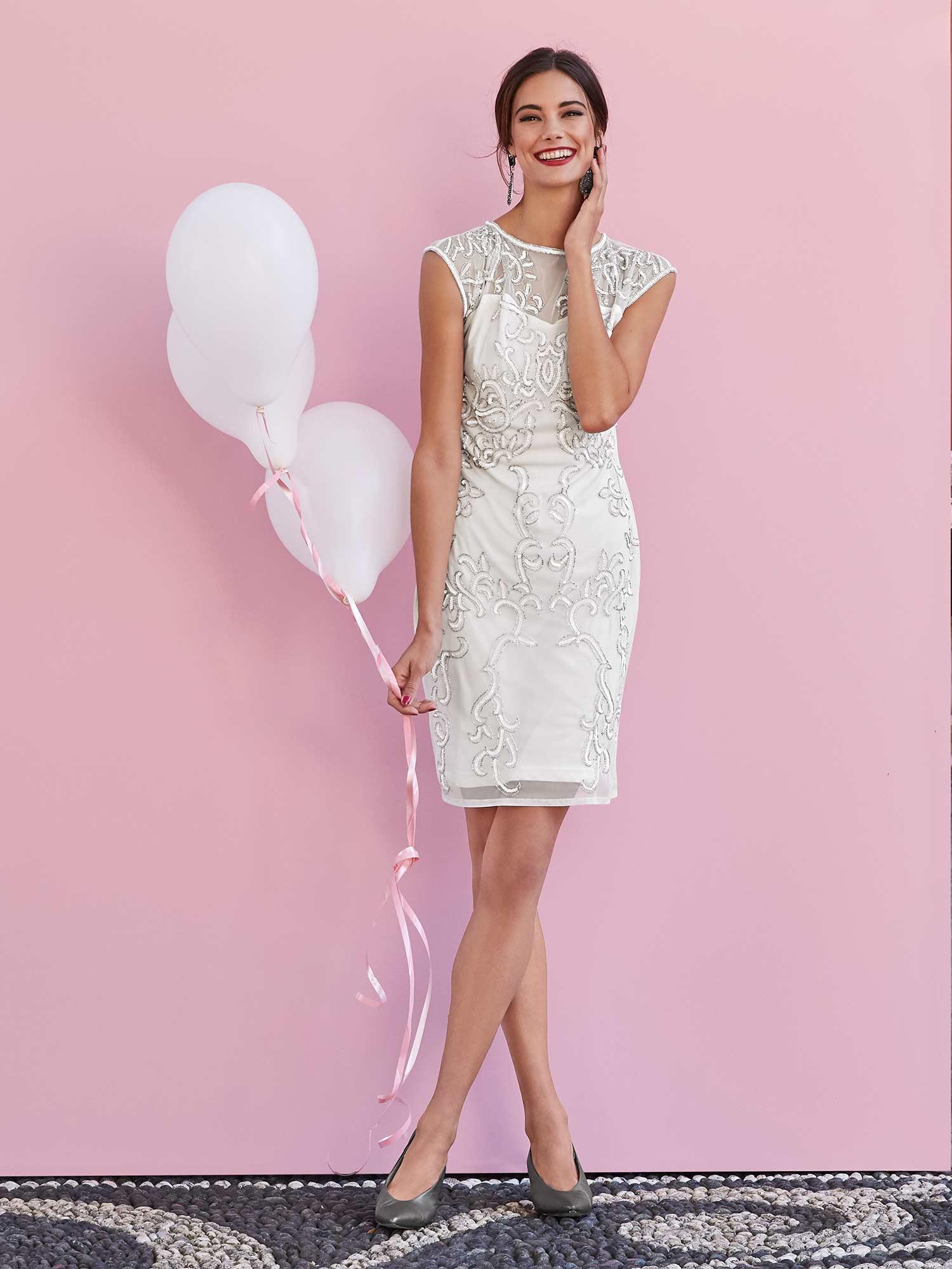 14 Wunderbar Schickes Kleid Für Hochzeit für 14 - Abendkleid