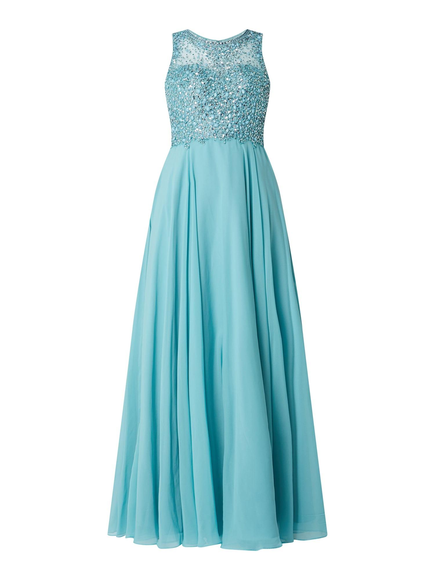 Formal Ausgezeichnet Unique Abendkleid Blau SpezialgebietAbend Spektakulär Unique Abendkleid Blau Vertrieb