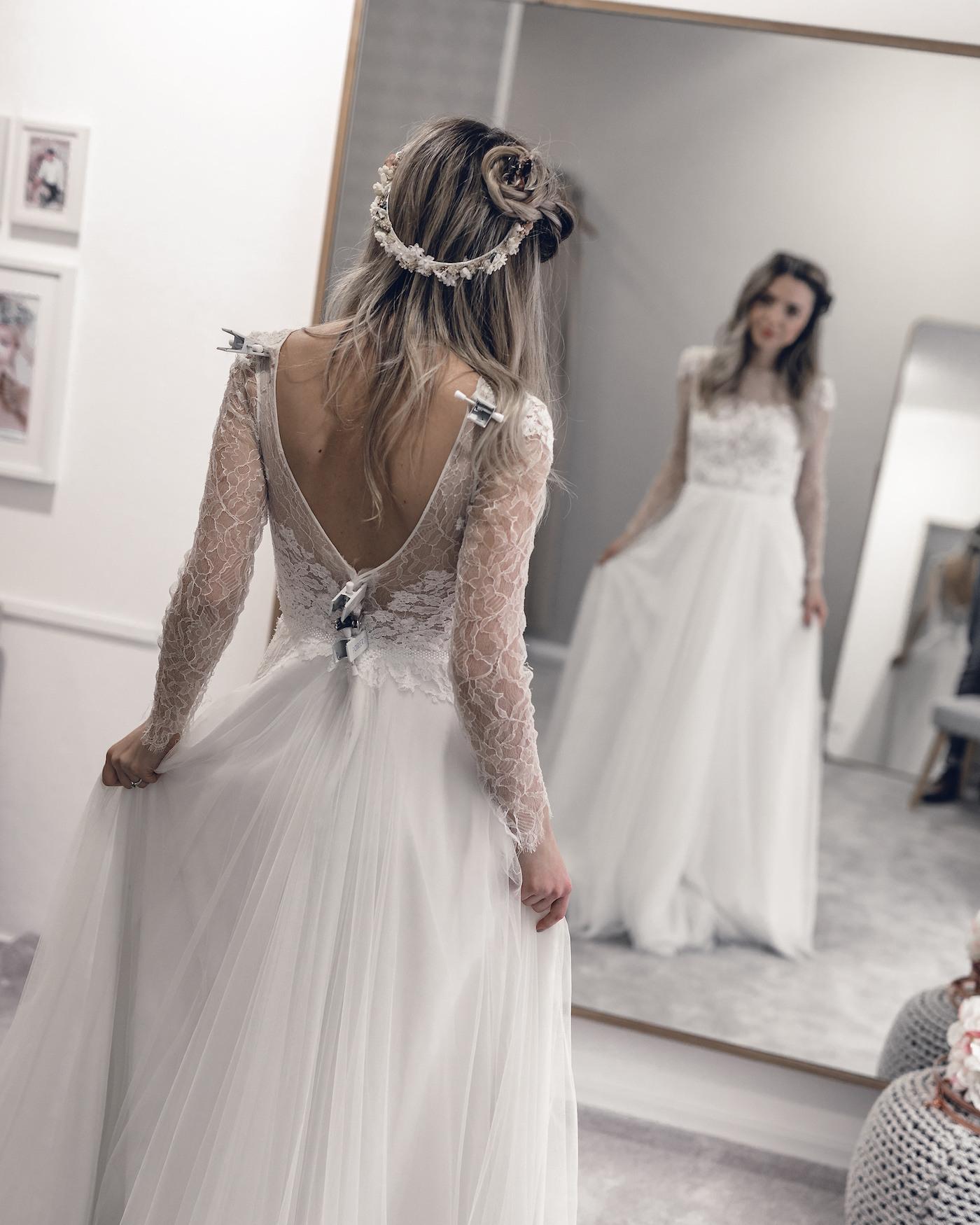 Designer Schön Brautkleid Hochzeitskleid für 201910 Kreativ Brautkleid Hochzeitskleid Boutique