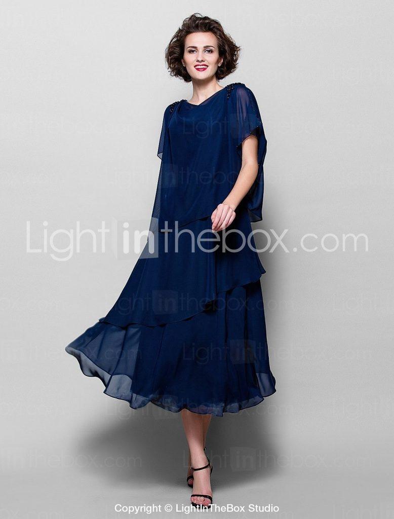 20 Einfach Elegante Damen Kleider Wadenlang Stylish13 Perfekt Elegante Damen Kleider Wadenlang Stylish