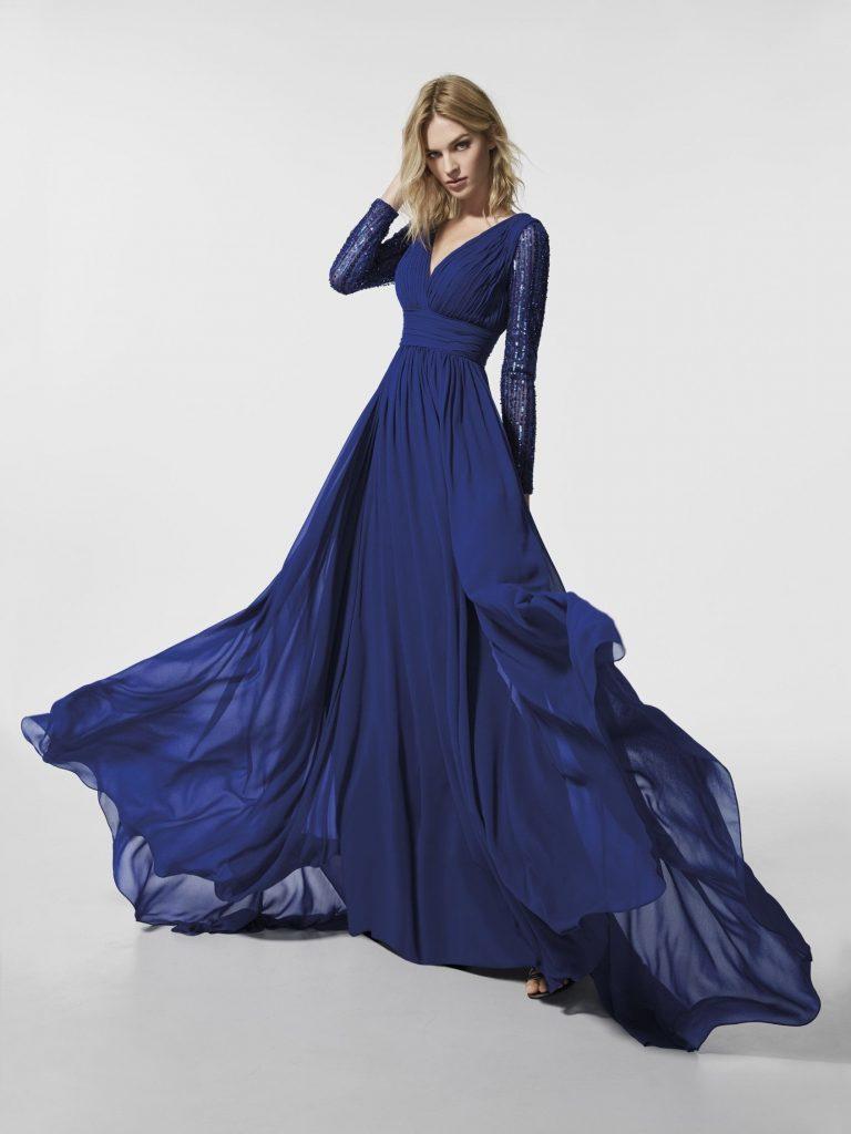 13 Coolste Langes Blaues Kleid Bester Preis - Abendkleid