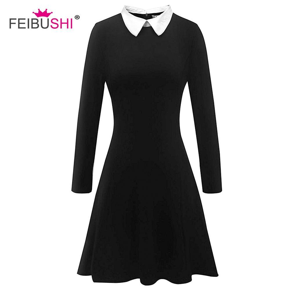 13 coolste schwarzes kleid langarm vertrieb - abendkleid