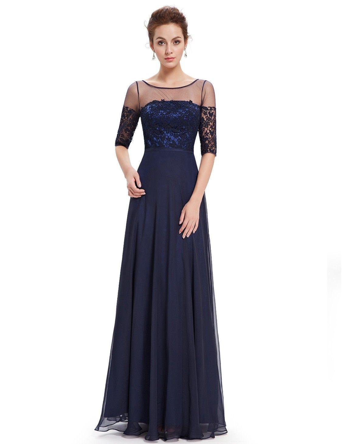 13 Fantastisch Abendkleid Dunkelblau Ärmel20 Elegant Abendkleid Dunkelblau Stylish