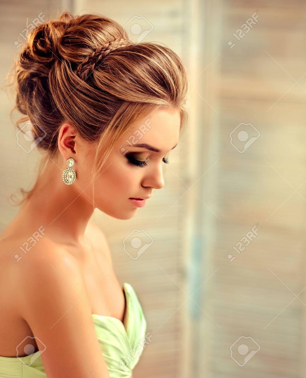 Formal Leicht Frisur Zum Abendkleid Vertrieb Leicht Frisur Zum Abendkleid Design