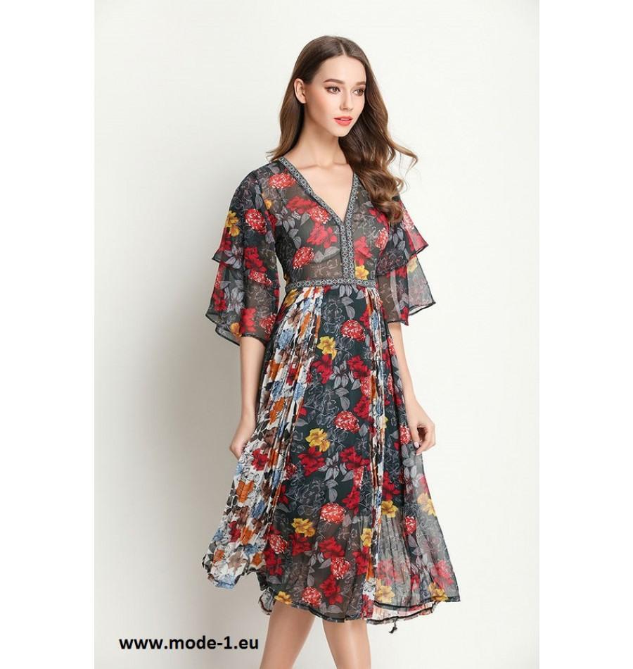 13 Einzigartig Sommerkleid Mit Ärmel Spezialgebiet Ausgezeichnet Sommerkleid Mit Ärmel Spezialgebiet