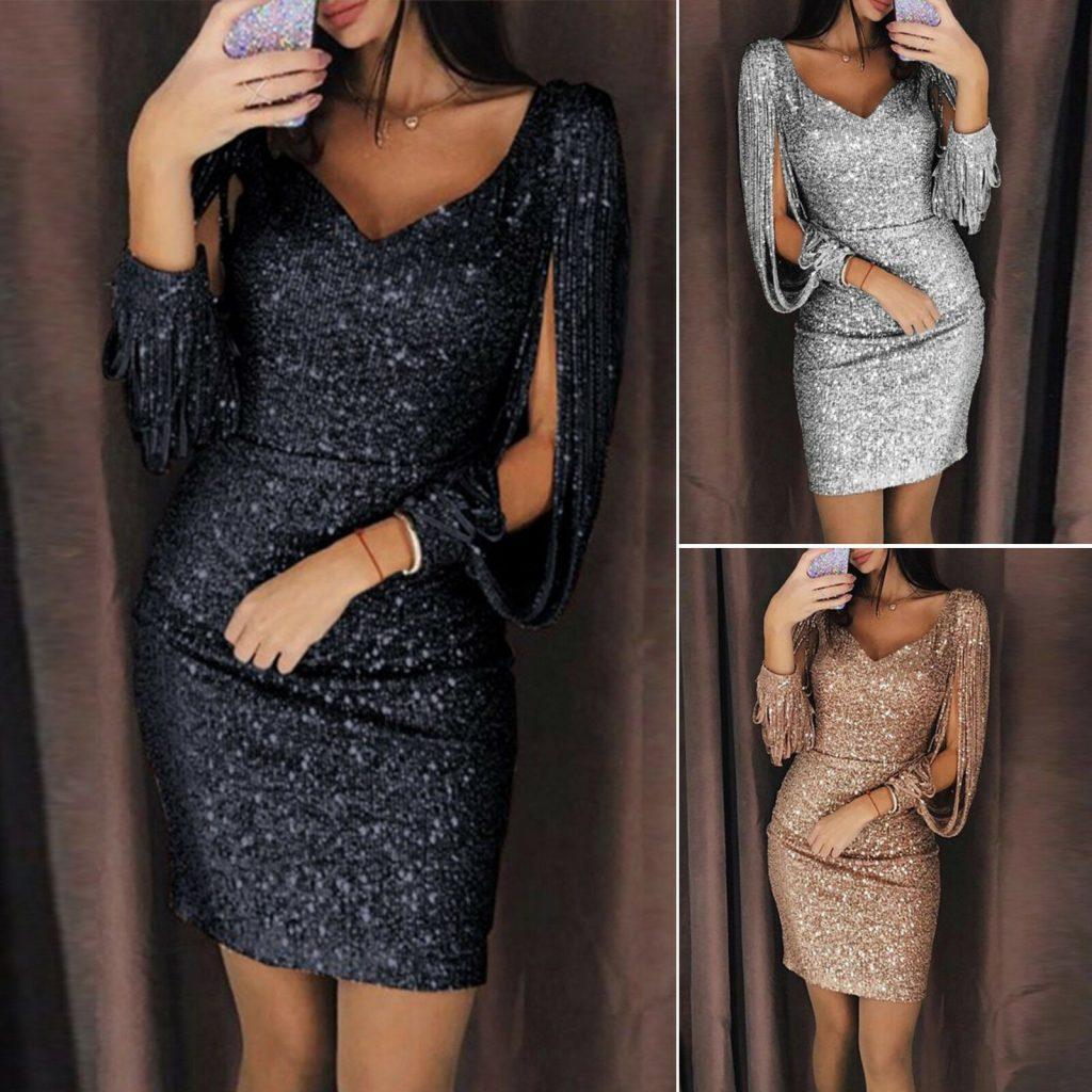 13 Erstaunlich Abendkleid Kurz Langarm Boutique - Abendkleid