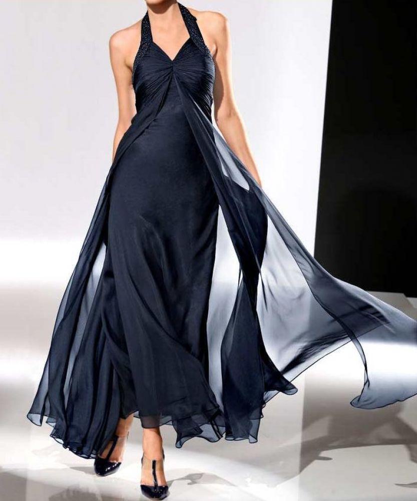 Formal Schön Abendkleid Nachtblau GalerieFormal Schön Abendkleid Nachtblau Boutique