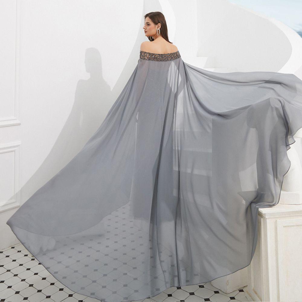 10 Einfach Abendkleid Umhang ÄrmelAbend Einzigartig Abendkleid Umhang Bester Preis