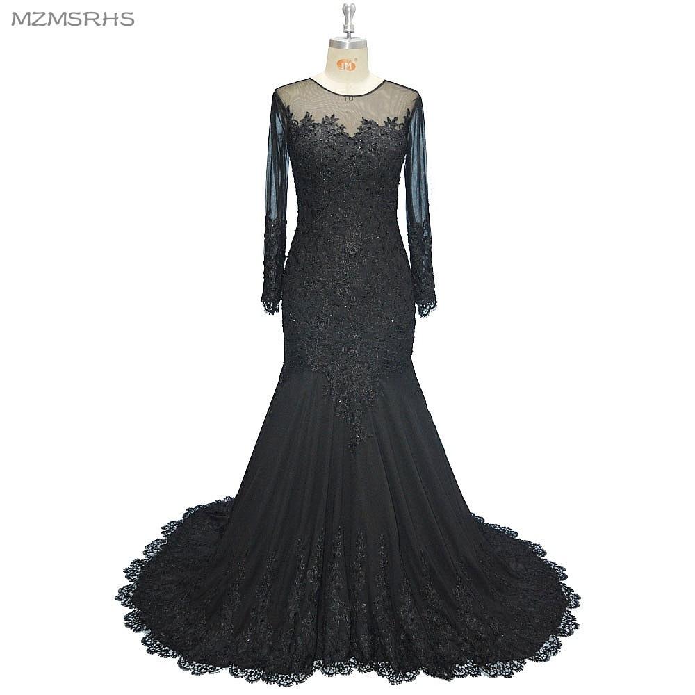Abend Großartig Abendkleid Meerjungfrau DesignFormal Coolste Abendkleid Meerjungfrau Ärmel