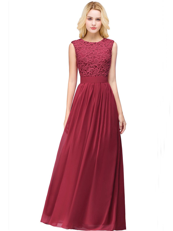 Formal Spektakulär Abendkleid Weinrot Lang Spezialgebiet20 Coolste Abendkleid Weinrot Lang Ärmel