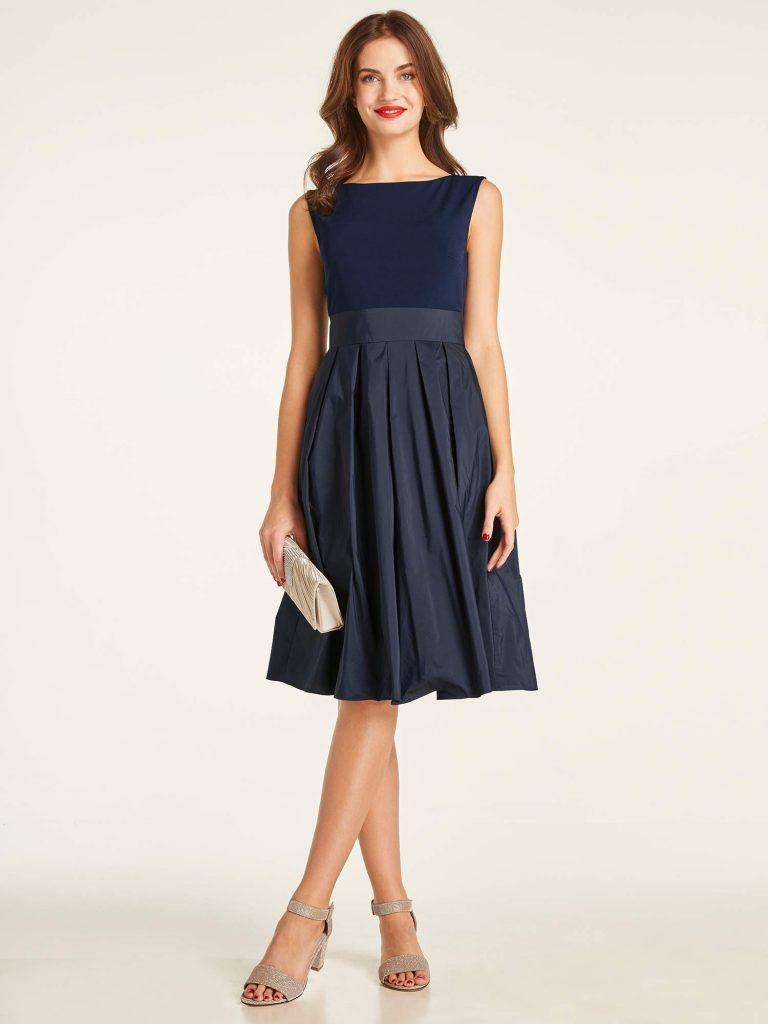 13 Genial Dunkelblaues Kleid Hochzeitsgast Spezialgebiet - Abendkleid