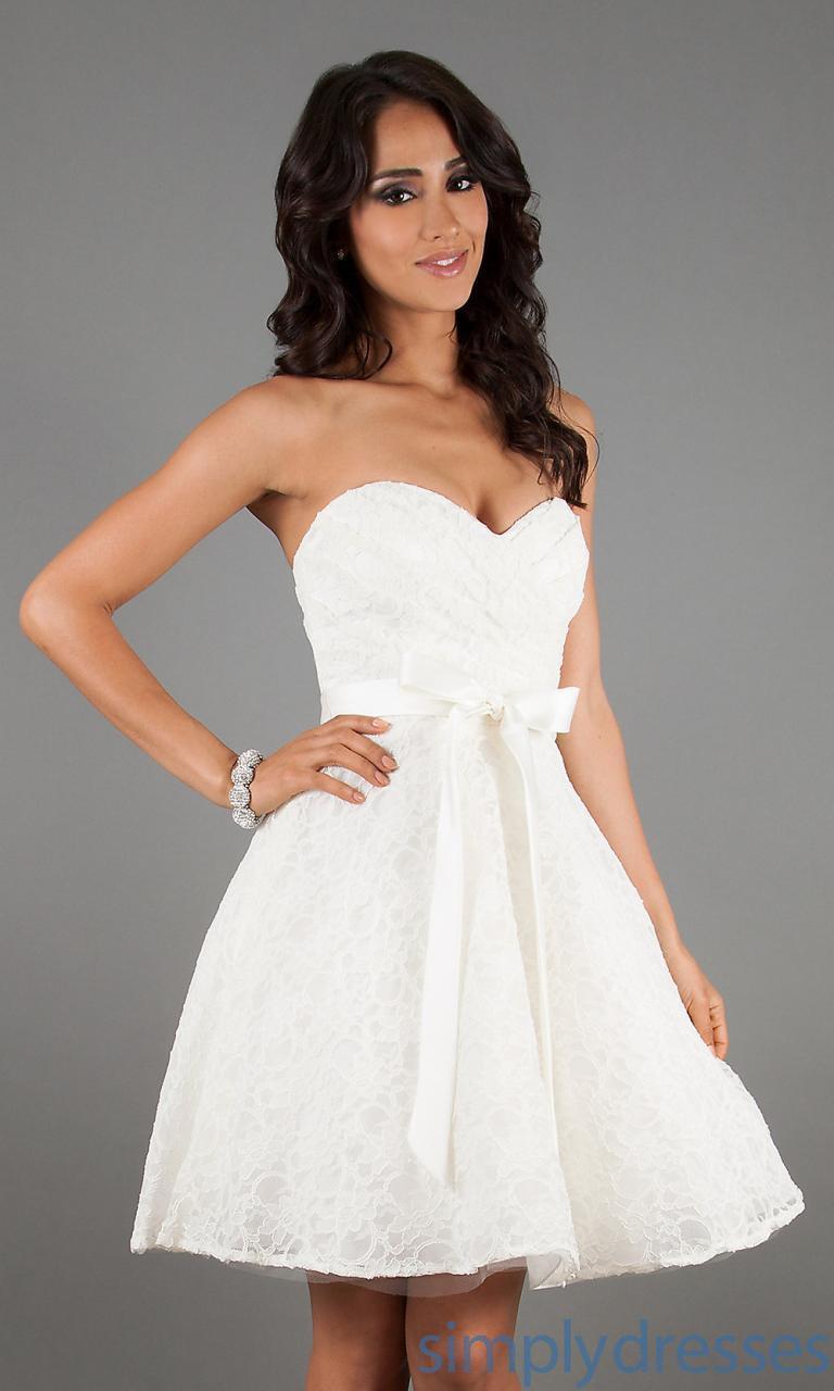 15 Schön Kurze Weiße Kleider für 2019 Ausgezeichnet Kurze Weiße Kleider Design