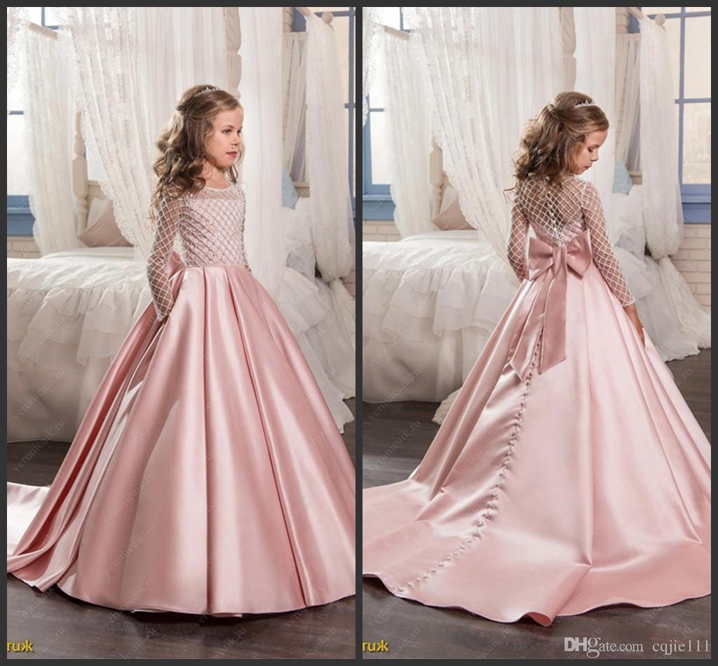 Designer Coolste Abendkleid Kinder StylishFormal Leicht Abendkleid Kinder Spezialgebiet