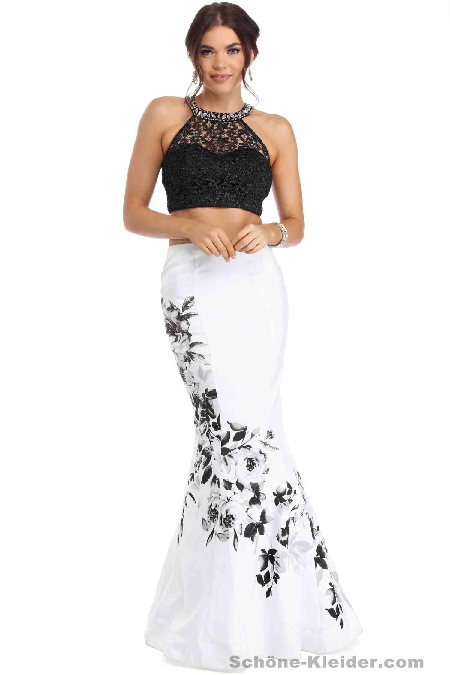 15 Einfach Abendkleid Schwarz Weiß Spezialgebiet Perfekt Abendkleid Schwarz Weiß für 2019