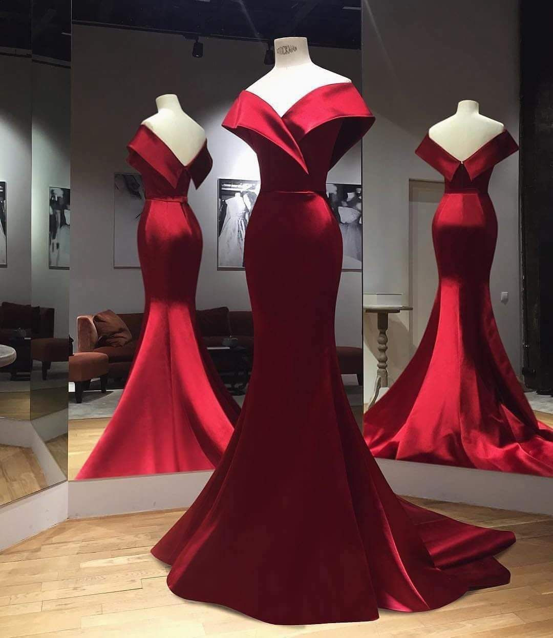 Formal Perfekt Abendkleid Bordeaux DesignAbend Schön Abendkleid Bordeaux Ärmel