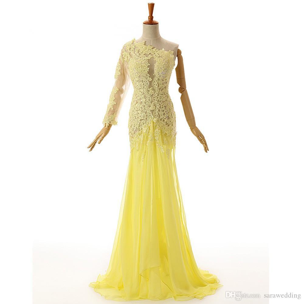 20 Leicht Abend Kleider In Gelb für 201920 Schön Abend Kleider In Gelb Galerie