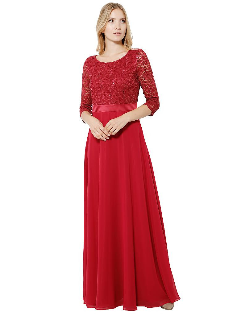 Abend Spektakulär Abendkleid Lang Rot Bester Preis20 Cool Abendkleid Lang Rot Design