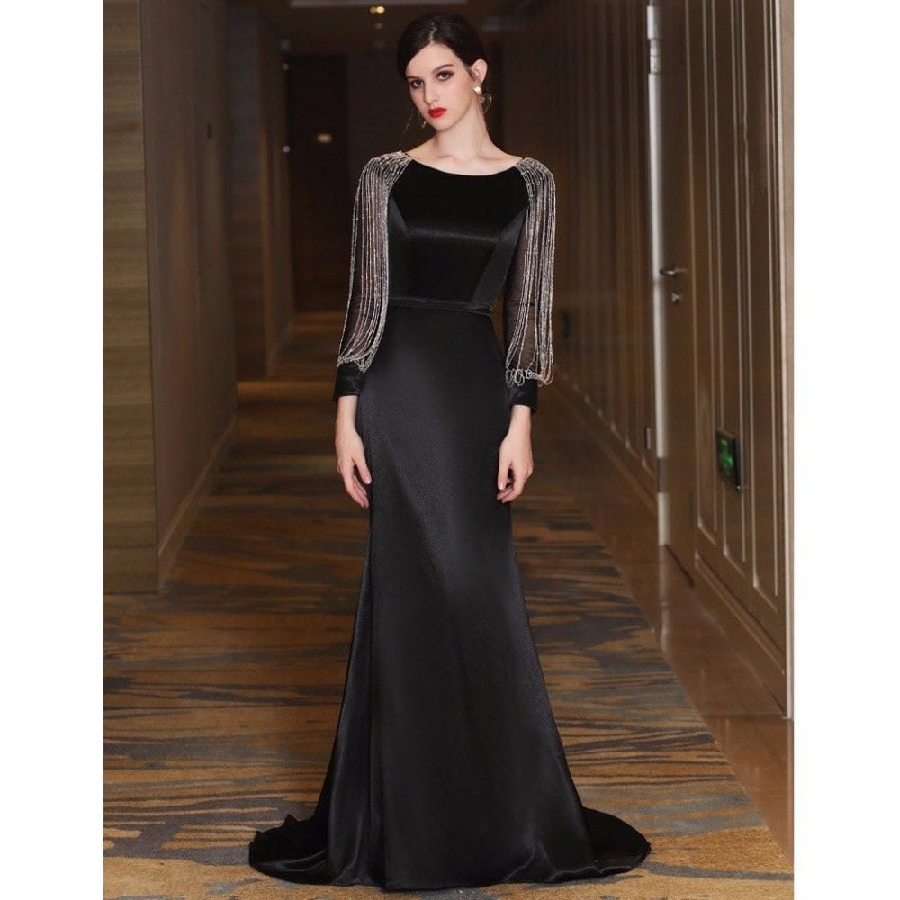 13 Luxus Abendkleid Langarm Stylish - Abendkleid