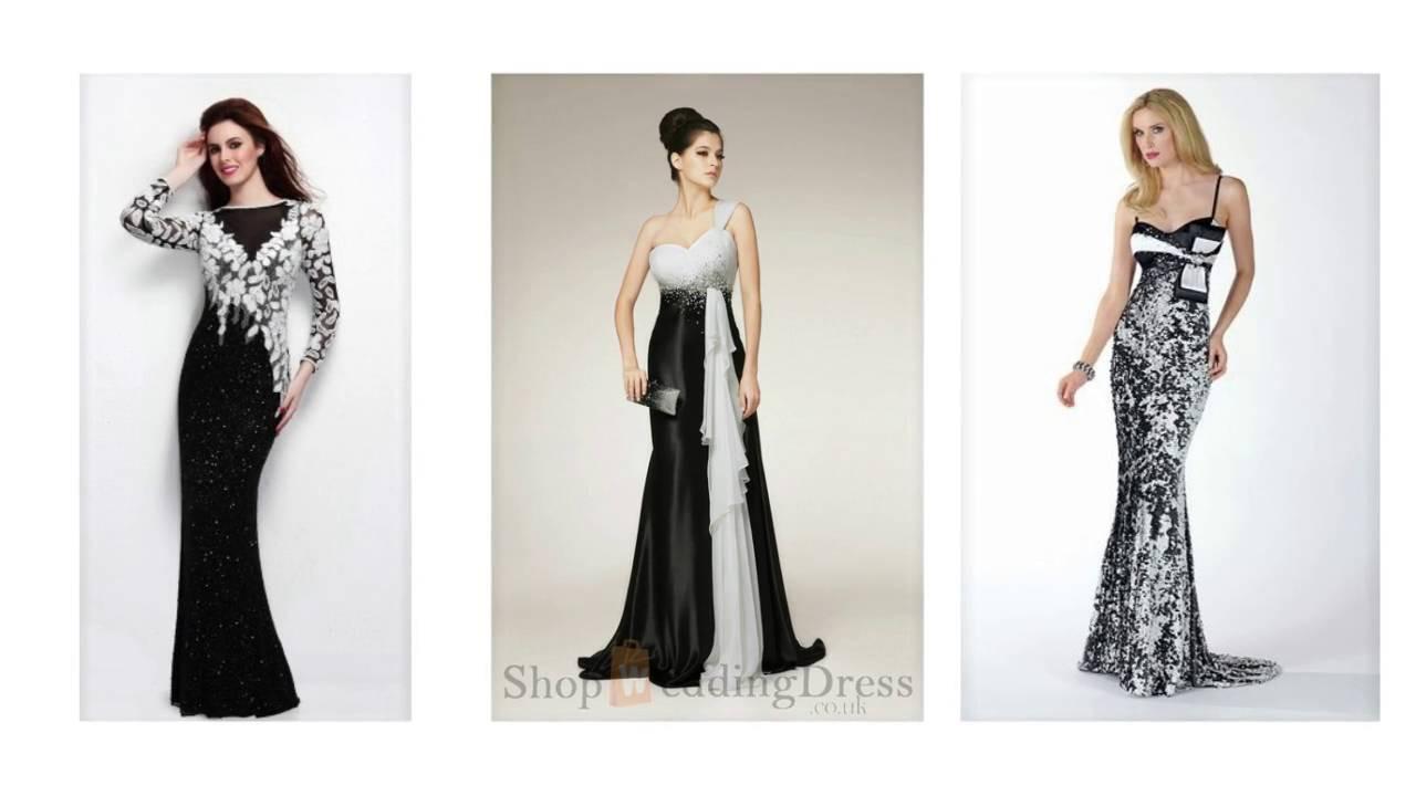 10 Einzigartig Abendkleid Schwarz Weiß Spezialgebiet Coolste Abendkleid Schwarz Weiß Stylish