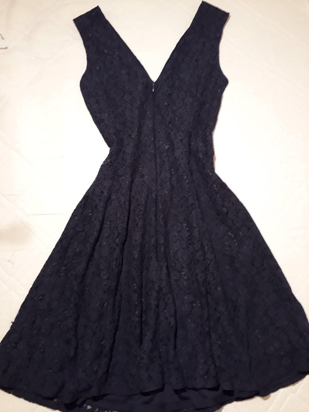 Formal Schön Dunkelblaues Kleid Mit Spitze Spezialgebiet17 Einzigartig Dunkelblaues Kleid Mit Spitze Stylish