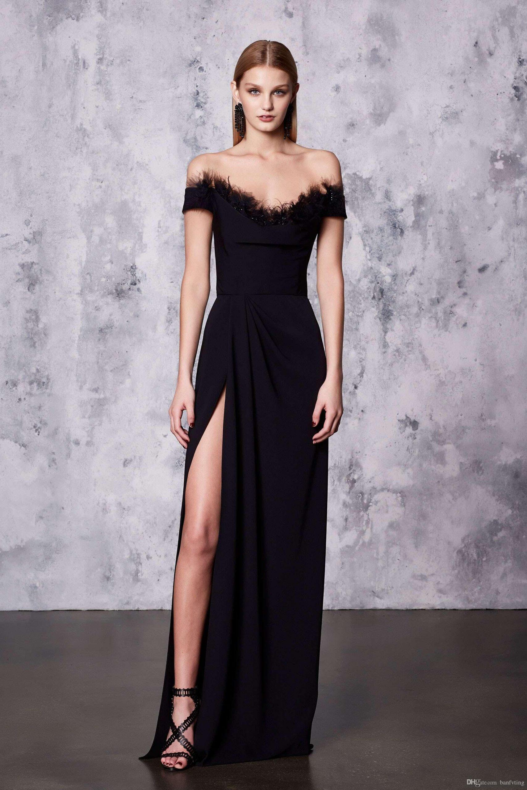 20 Fantastisch Schwarzes Abend Kleid VertriebAbend Schön Schwarzes Abend Kleid Bester Preis