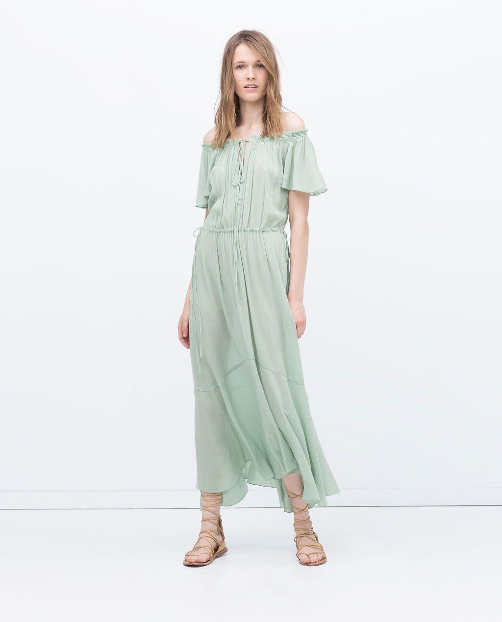 10 Schön Abendkleid Zara Stylish17 Genial Abendkleid Zara Ärmel