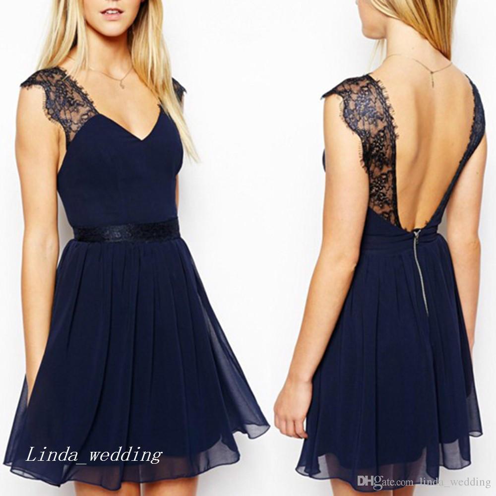 Fantastisch Kurzes Blaues Kleid Galerie17 Schön Kurzes Blaues Kleid Design