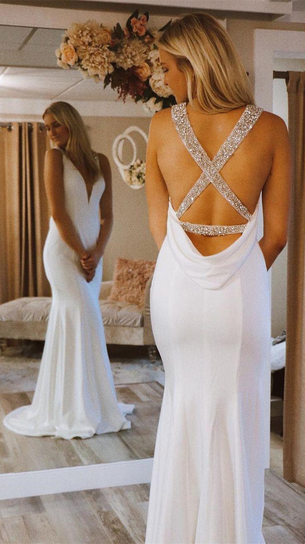 Formal Schön Langes Abendkleid Weiß Boutique10 Schön Langes Abendkleid Weiß Design