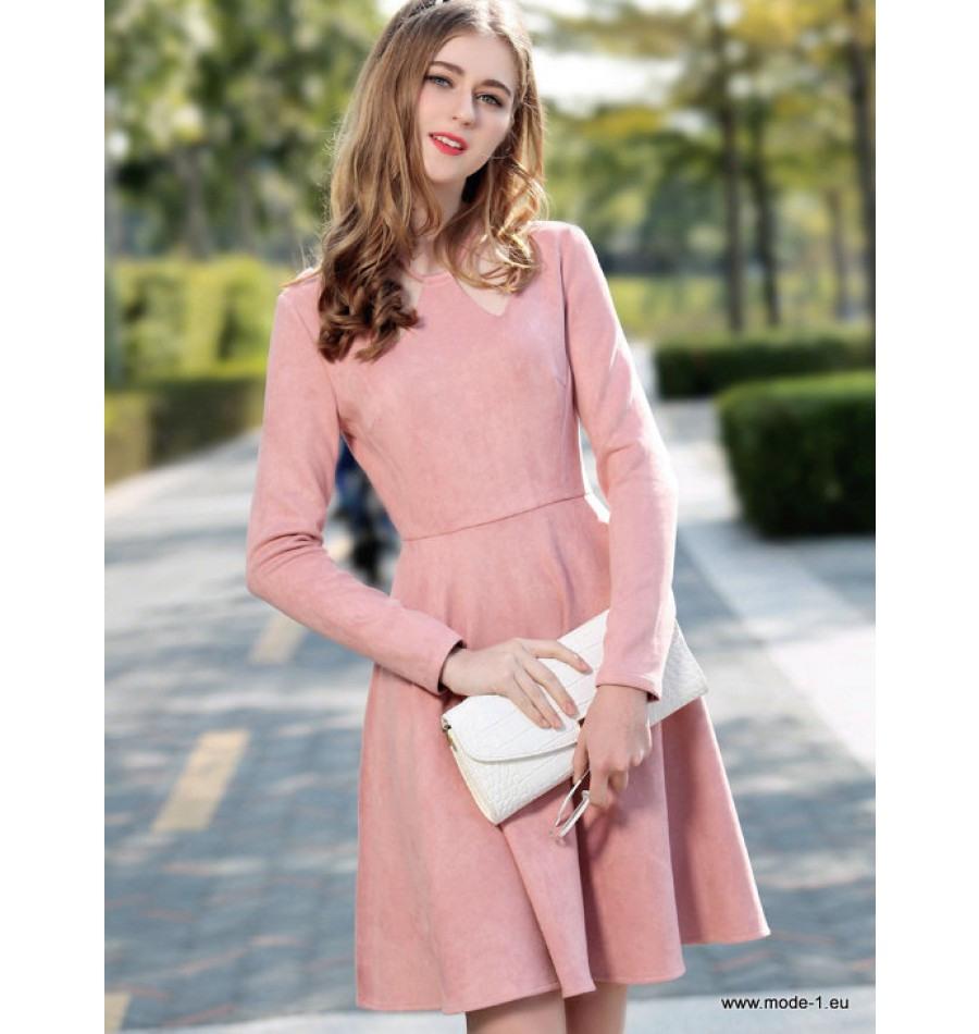 10 Ausgezeichnet Rosa Kleid Langarm Bester Preis10 Leicht Rosa Kleid Langarm Design