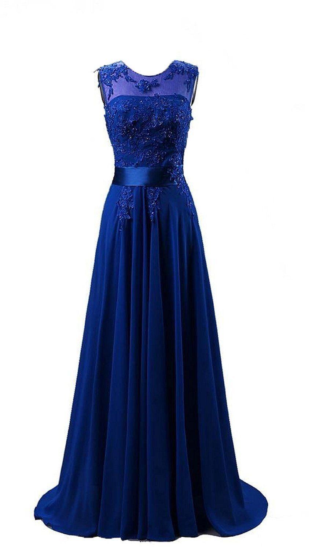 Abend Luxurius Abendkleid Blau Lang ÄrmelDesigner Perfekt Abendkleid Blau Lang Galerie