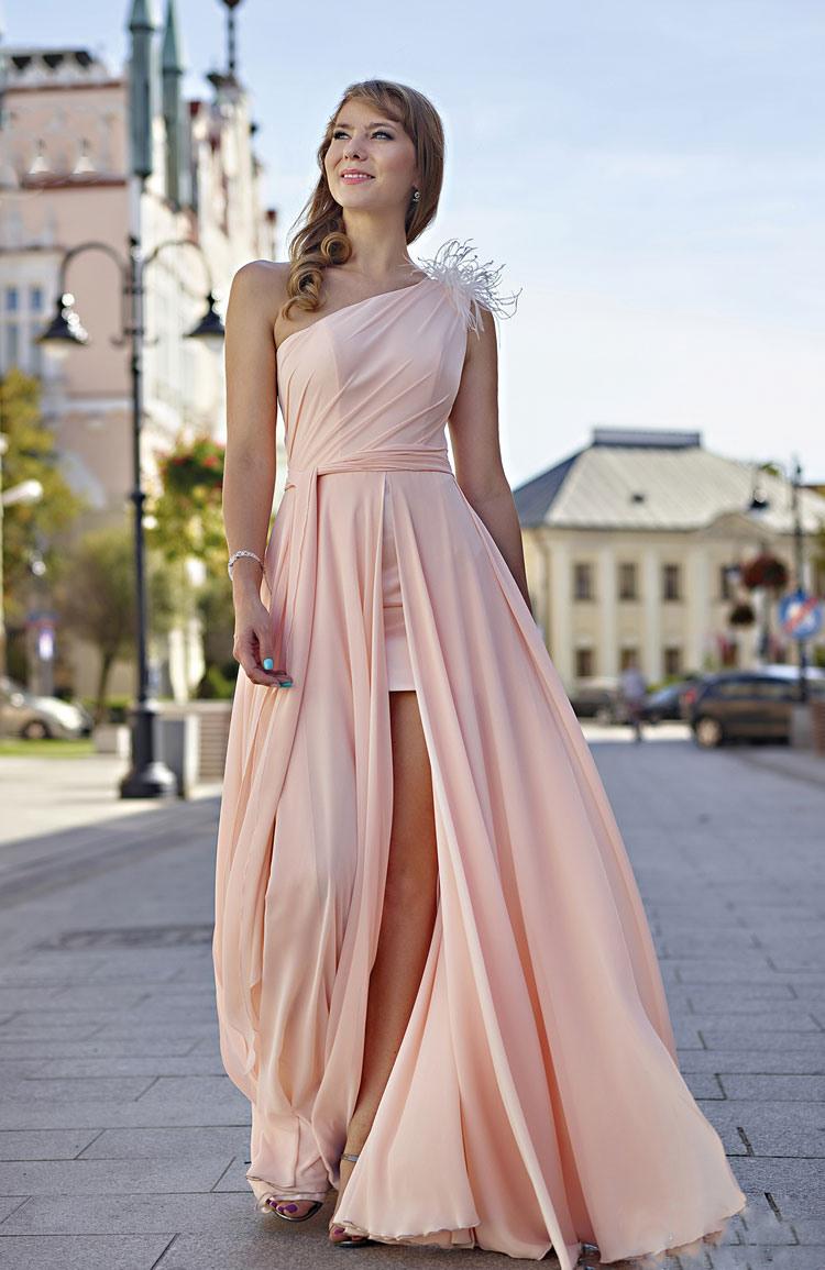 17 Wunderbar Apricot Abendkleid Ärmel Kreativ Apricot Abendkleid Galerie