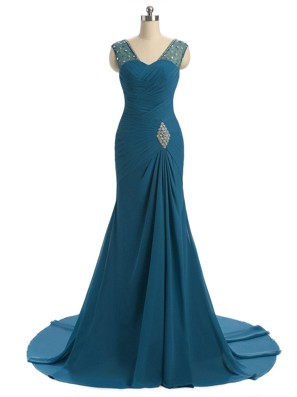 Formal Schön Abendkleid Türkis Lang Spezialgebiet10 Elegant Abendkleid Türkis Lang Galerie