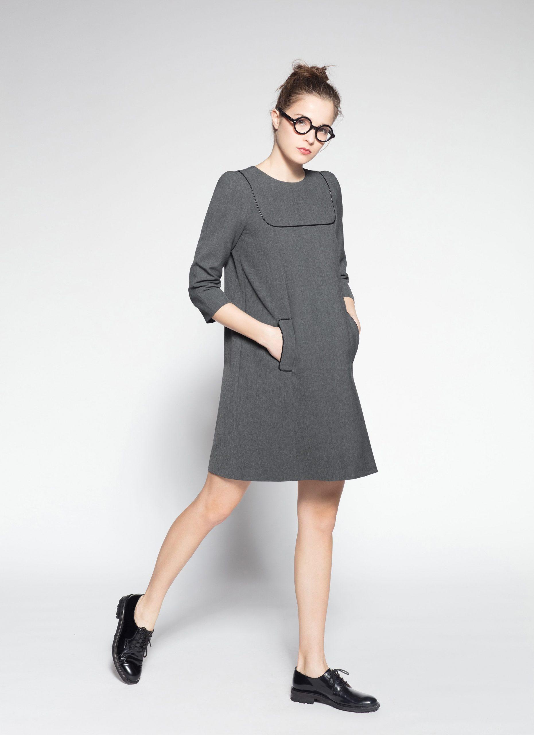 Designer Genial Kleid Grau Langarm Spezialgebiet20 Coolste Kleid Grau Langarm für 2019