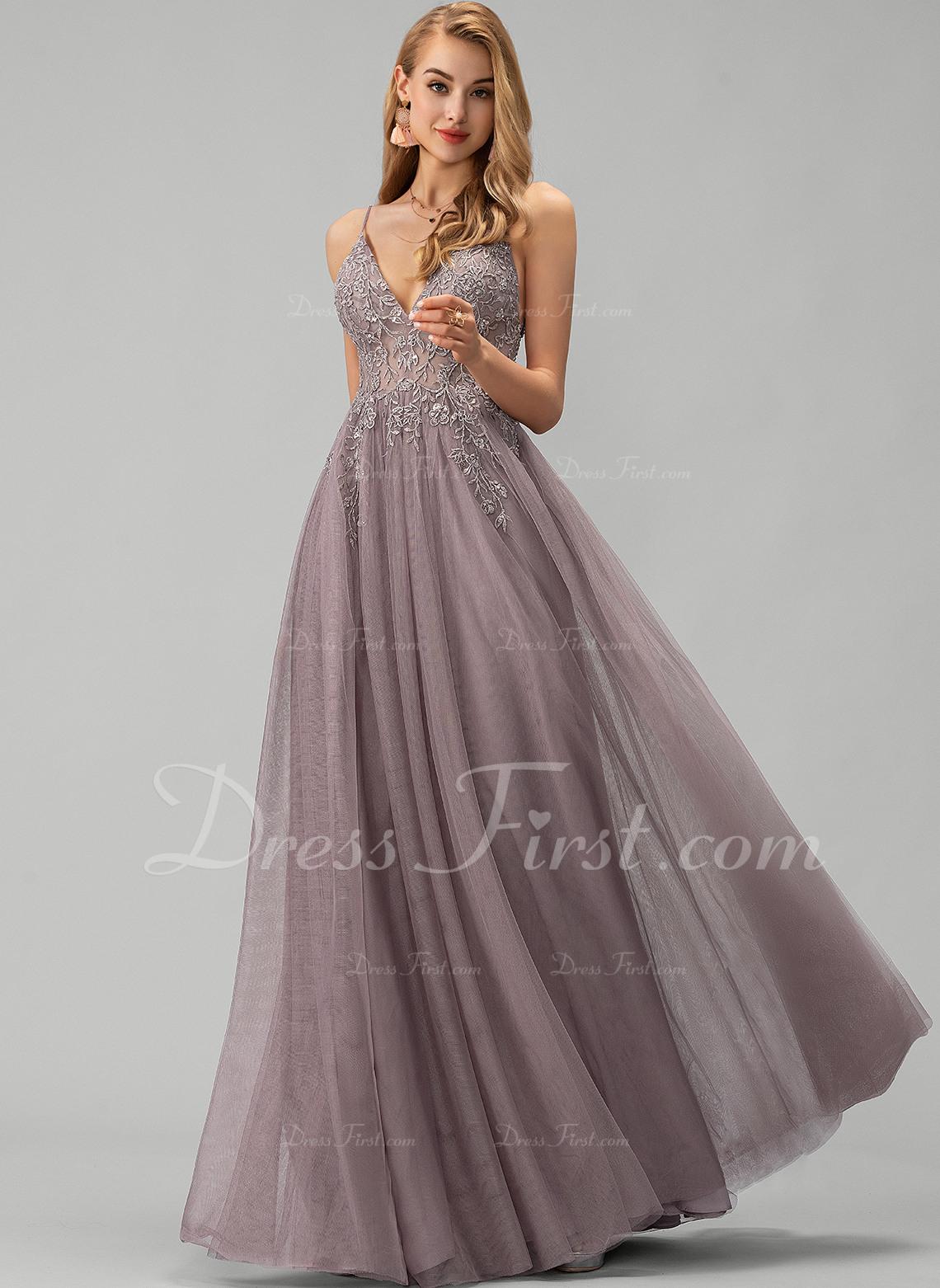 Formal Perfekt Tüll Abendkleid für 2019 Ausgezeichnet Tüll Abendkleid Spezialgebiet