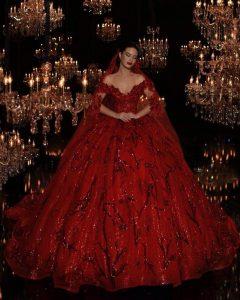 Formal Luxus Henna Abend Kleid Rot VertriebDesigner Schön Henna Abend Kleid Rot für 2019