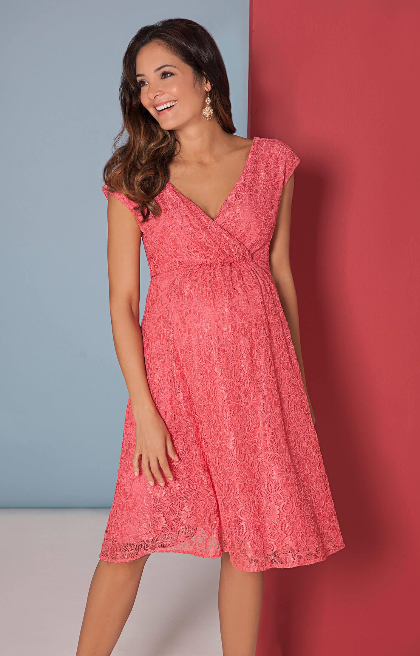 Elegant Kleid Koralle Spitze für 2019Abend Genial Kleid Koralle Spitze Boutique