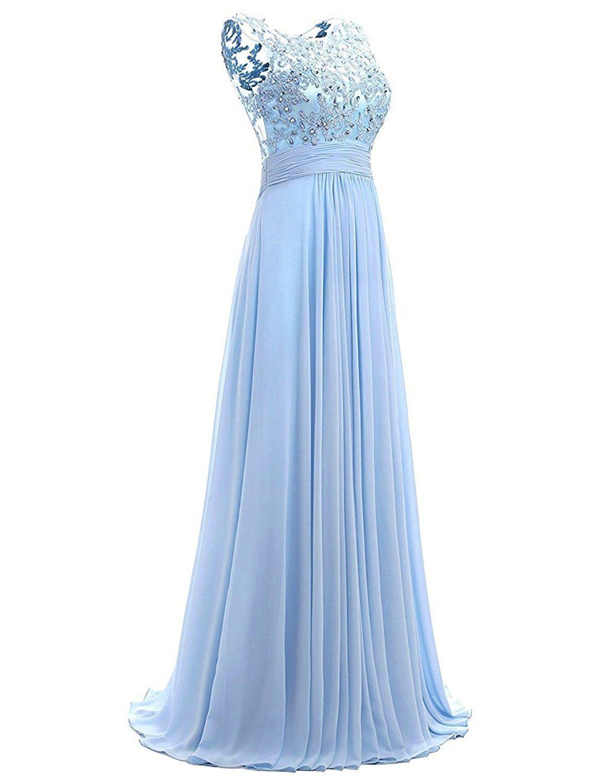 Formal Genial Abendkleid Hellblau Lang VertriebFormal Schön Abendkleid Hellblau Lang Vertrieb