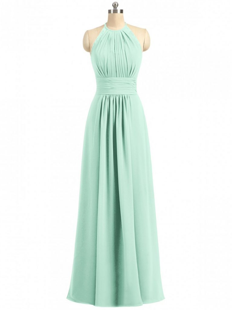 10 Großartig Kleid Lang Mint für 10 - Abendkleid