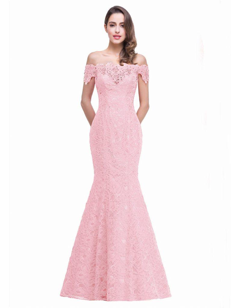9 Luxus Abendkleid Carmen Ausschnitt Lang Boutique - Abendkleid