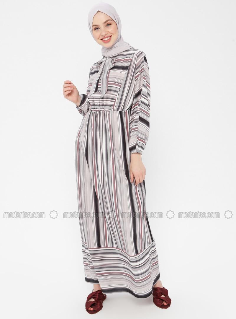 Formal Erstaunlich Kleid Gestreift StylishAbend Elegant Kleid Gestreift für 2019