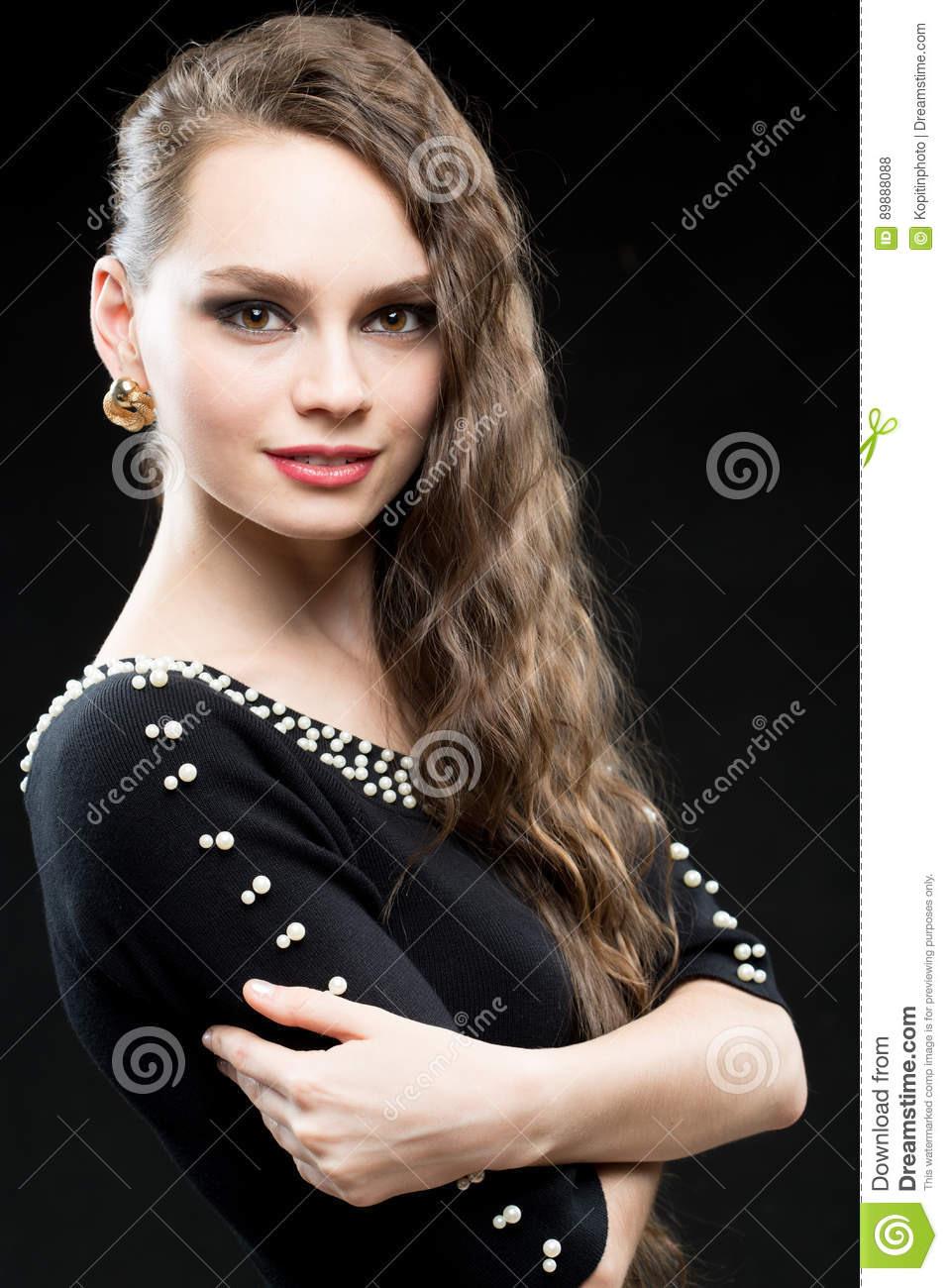20 Wunderbar Abend Make Up Schwarzes Kleid für 201910 Einzigartig Abend Make Up Schwarzes Kleid Spezialgebiet