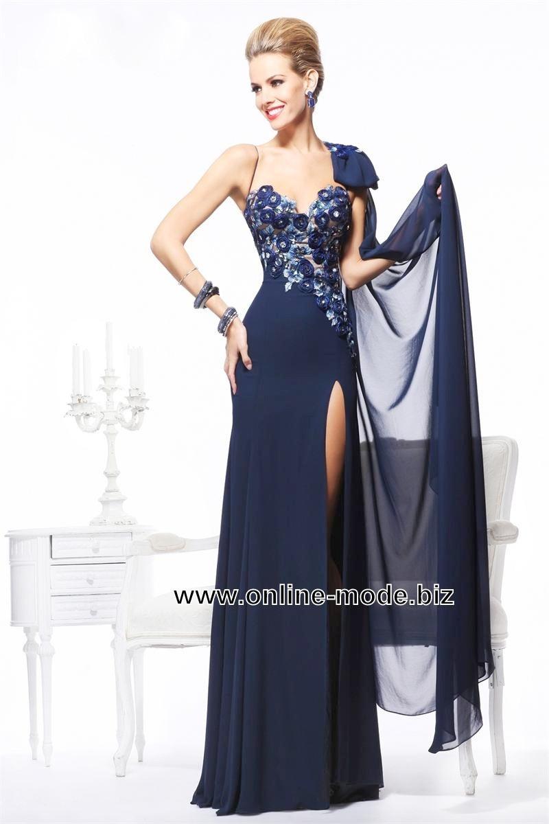 Formal Schön Abendkleid Lang Blau Bester Preis17 Fantastisch Abendkleid Lang Blau Boutique