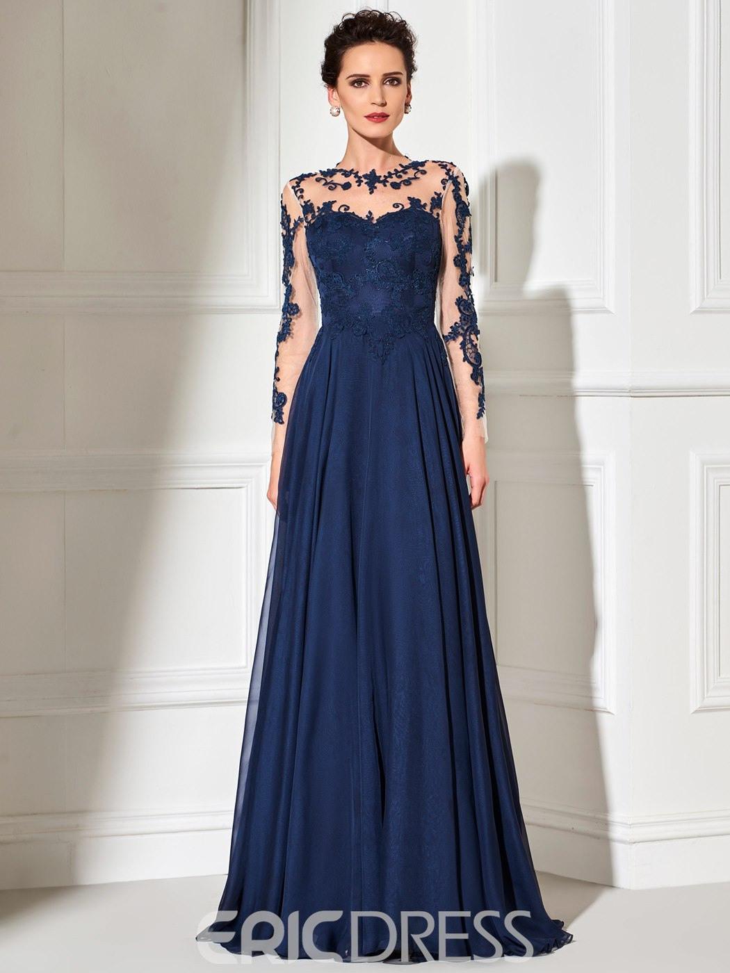 Abend Perfekt Abendkleid Lange Ärmel StylishDesigner Fantastisch Abendkleid Lange Ärmel Boutique