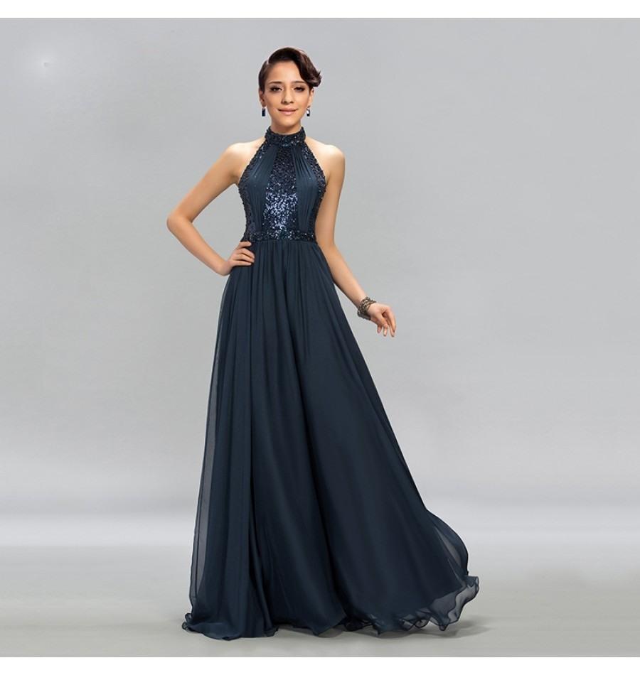 Designer Einzigartig Abendkleider Neckholder Galerie15 Elegant Abendkleider Neckholder Design