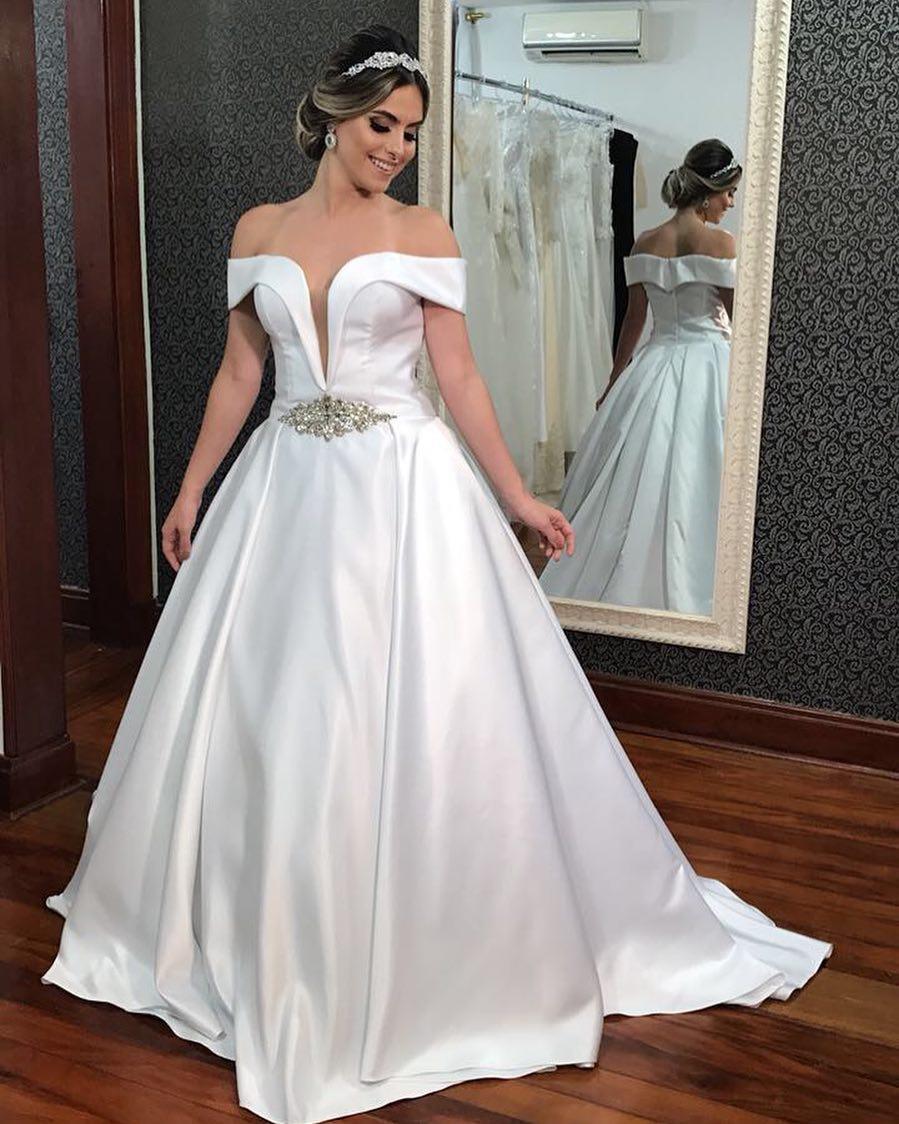 13 Fantastisch Elegante Brautkleider für 2019Designer Einfach Elegante Brautkleider Stylish